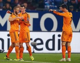 """Tam tấu"" Bale, Benzema, C.Ronaldo cán mốc 70 bàn"