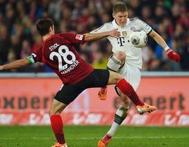 Bayern Munich hủy diệt Hannover