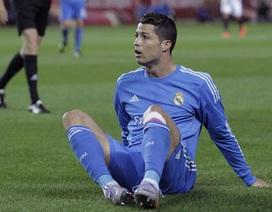 Hạn nặng cho Real Madrid: C.Ronaldo tái phát chấn thương