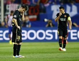 Nhìn lại 90 phút cùng cực đến thảm hại của Barca tại Calderon