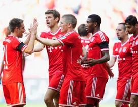 "Bayern Munich ""nghiền nát"" Bremen"
