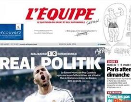Báo giới quốc tế mỉa mai lối đá phản công của Real Madrid
