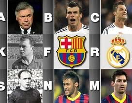Trận chung kết kinh điển Real-Barca từ A đến Z