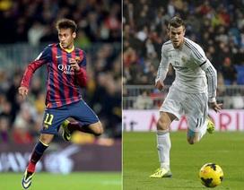 """Khi """"siêu kinh điển"""" đặt trên vai Neymar và Gareth Bale"""