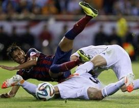 Neymar và Alba nói lời tạm biệt mùa giải 2013-14