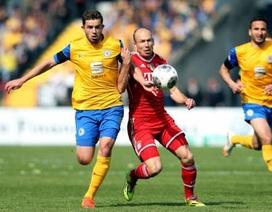 Thắng nhọc Braunschweig, Bayern thấp thỏm chờ Real Madrid