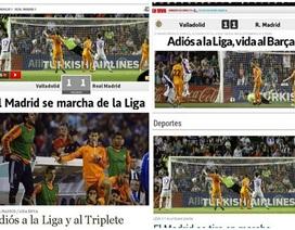 Báo giới Tây Ban Nha chỉ trích thậm tệ sự kém cỏi của Real Madrid