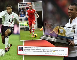 Mất suất dự World Cup, Ashley Cole chia tay sự nghiệp quốc tế