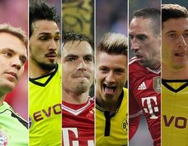 Đội hình tiêu biểu Bundesliga 2013-14