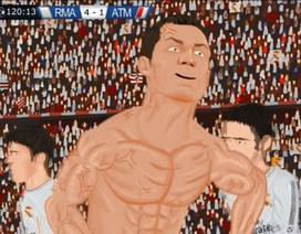 Clip hoạt hình 'parody' trận chung kết Champions League gây sốt