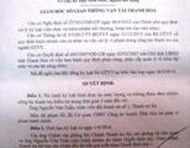 Vụ thanh tra giao thông nhận hối lộ: Không đảm nhiệm chức vụ trong 5 năm
