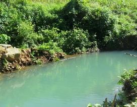 Rơi xuống suối sâu, hai học sinh chết và mất tích