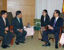 Thủ tướng thúc đẩy hợp tác kinh tế, thương mại, đầu tư với Thái Lan