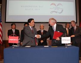 Việt Nam - Hoa Kỳ ký nhiều văn kiện hợp tác về ngân hàng, hàng không