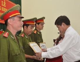 Khen thưởng chiến sỹ công an trong vụ giải cứu cháu bé 3 tuổi bị bắt cóc