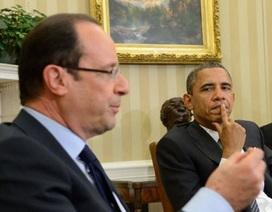 """Tân Tổng thống Pháp trong lần """"diện kiến"""" đầu tiên tại Nhà Trắng"""