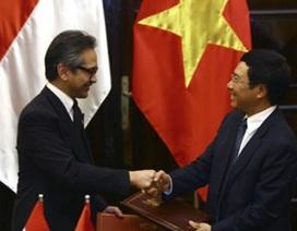 Ngoại trưởng Indonesia tái thăm Hà Nội