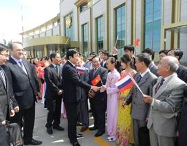 Hình ảnh Chủ tịch nước Trương Tấn Sang thăm LB Nga