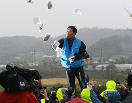 Nhóm nhà hoạt động Hàn Quốc lại thả truyền đơn chống Triều Tiên