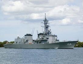 Tàu chiến Nhật áp sát đảo tranh chấp với Hàn