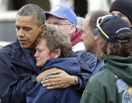 Tổng thống Obama thị sát thiệt hại bão