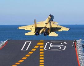 Chiến đấu cơ tự chế cho tàu sân bay Trung Quốc có tầm xa 3.000km