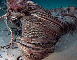 Trục vớt được động cơ tàu vũ trụ Apollo dưới đáy đại dương