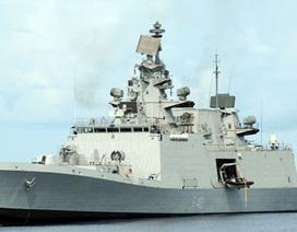 Bốn chiến hạm Ấn Độ trở lại Biển Đông, ghé cảng Việt Nam