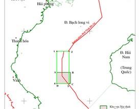 Việt- Trung mở rộng khu vực xác định thỏa thuận thăm dò chung