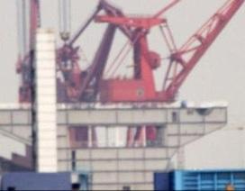 Hé lộ ảnh tàu sân bay mới của Trung Quốc