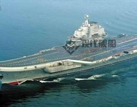 Tàu sân bay Trung Quốc tham gia diễn tập quân sự