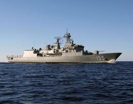 Tàu khu trục hải quân Hoàng gia Úc sắp thăm TP Hồ Chí Minh