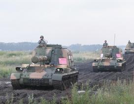 Trung Quốc phô diễn sức mạnh quân sự tại Nga