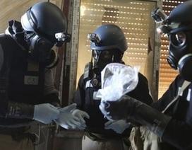 Syria giao nộp vũ khí hóa học: Mò kim đáy bể?