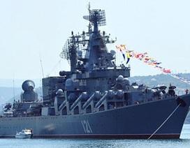 """Nga mang """"hàng đặc biệt"""" gì đến Syria, mà cần tới 16 tàu chiến?"""