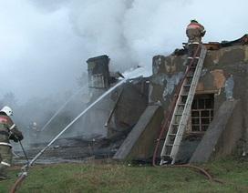 Nga: Cháy bệnh viện, 37 người chết