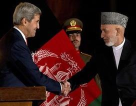 Thỏa thuận an ninh Mỹ-Afghanistan có nguy cơ sụp đổ