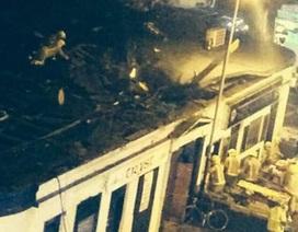 Nhiều người mắc kẹt trong vụ trực thăng lao xuống quán rượu
