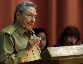 """Chủ tịch Cuba muốn """"quan hệ đàng hoàng"""" với Mỹ"""