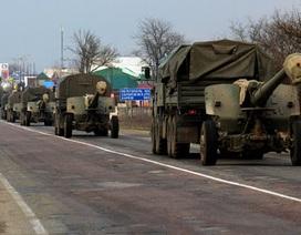 Tổng thống tạm quyền Ukraine lệnh rút quân khỏi Crimea