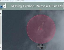 Phát hiện hình ảnh xác máy bay Malaysia trên vệ tinh