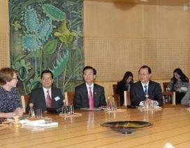 Phó Thủ tướng Vũ Văn Ninh công du Thụy Điển