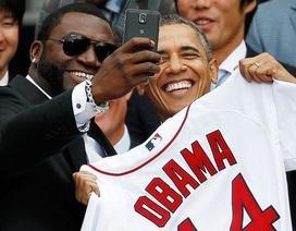 """Nhà Trắng nổi giận vì Samsung quảng bá ảnh """"tự sướng"""" của Obama"""