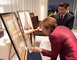 Thủ tướng Đức tặng quà nhạy cảm cho Chủ tịch Trung Quốc