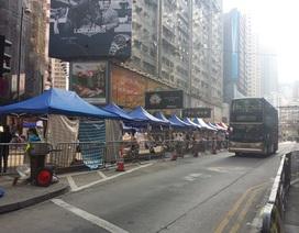 Thêm một số phần đường được giải phóng ở Hong Kong