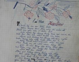 """Hé lộ tác giả bài thơ """"Lá thư xuân"""""""