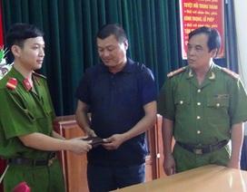 Trung sĩ công an trả lại 20 triệu đồng nhặt được trong trại giam