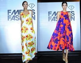 """Hoa lan """"hút mắt"""" trên sàn catwalk F Fashion Show"""