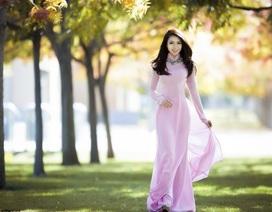 Hoa hậu Jennifer Chung thướt tha áo dài ngày đông