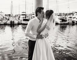 Ngắm trọn bộ ảnh cưới lãng mạn của Trúc Diễm tại Mỹ